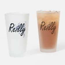 Reilly surname artistic design with Drinking Glass
