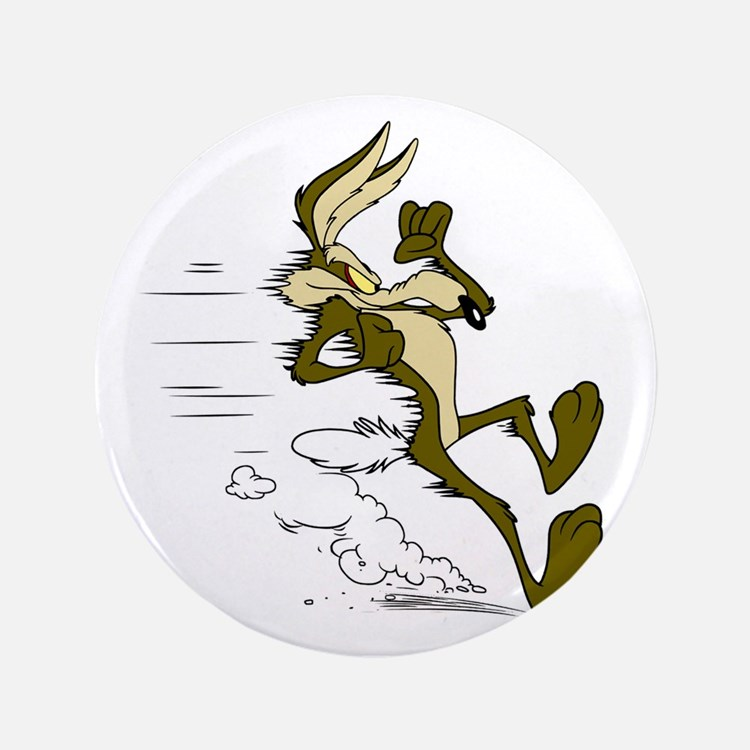 Fast Road Runner fox Button