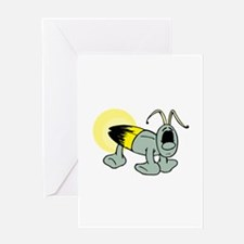 Lightning Bug Greeting Cards