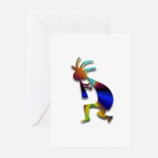 One Kokopelli #7 Greeting Cards (Pk of 20)