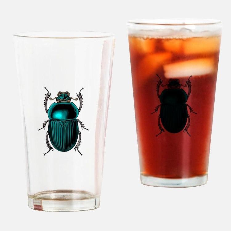Beetle Bug Drinking Glass
