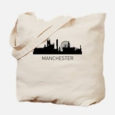 Manchester England Cityscape Tote Bag