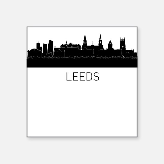 Leeds England Cityscape Sticker