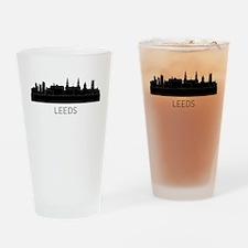 Leeds England Cityscape Drinking Glass