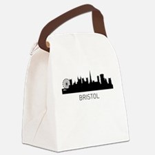 Bristol England Cityscape Canvas Lunch Bag