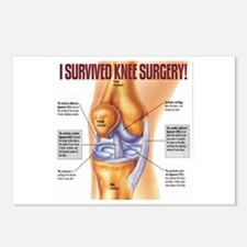 Knee Surgery Gift 1 Postcards (Package of 8)