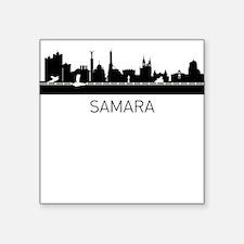 Samara Russia Cityscape Sticker