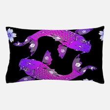 Unique Black carp Pillow Case