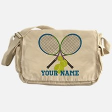 Personalized Tennis Player Messenger Bag