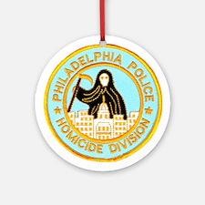 Philadelphia Homicide Divisio Ornament (Round)