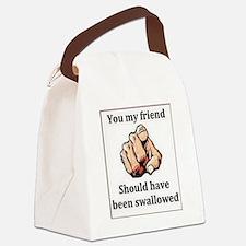 Cute Vulgar Canvas Lunch Bag