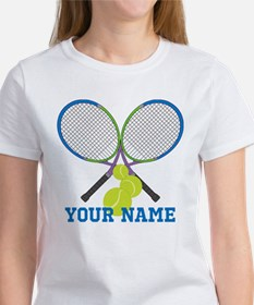 Personalized Tennis Player T-Shirt