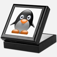 Little penguin Keepsake Box
