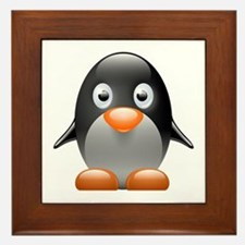 Little penguin Framed Tile