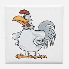 Rooster leader Tile Coaster