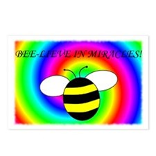 BEE-LIEVE IN MIRACLES! Postcards (Package of 8)