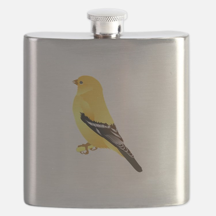 Gold finch Flask