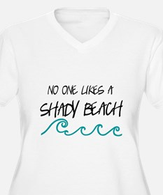 Shady Beach Plus Size T-Shirt