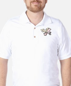 Pig with wings Flying Golf Shirt