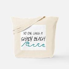 Shady Beach Tote Bag