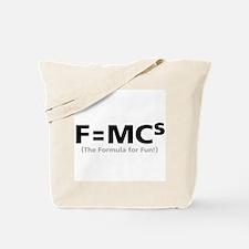 Formula for Fun Tote Bag