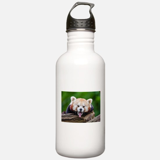 Red Panda Water Bottle
