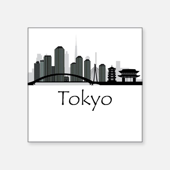 Tokyo Japan Cityscape Sticker