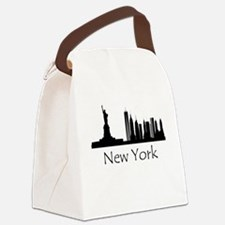 New York City Cityscape Canvas Lunch Bag
