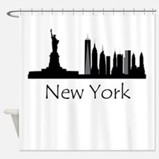 New York City Cityscape Shower Curtain