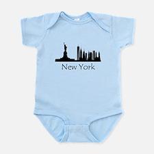 New York City Cityscape Body Suit