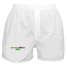 My Mommy & Daddy Are Chefs (PRIMARY) Boxer Shorts