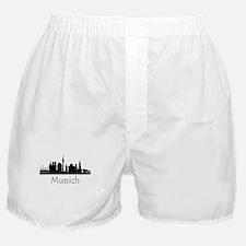 Munich Germany Cityscape Boxer Shorts