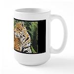 Jaguar on Branch Large Mug