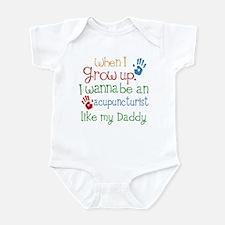 Acupuncturist Like Daddy Infant Bodysuit