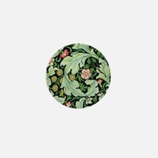 Acanthus and Flowers by William Morris Mini Button
