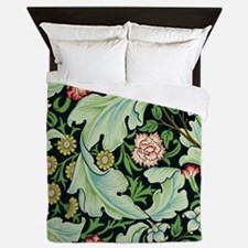 Acanthus and Flowers by William Morris Queen Duvet