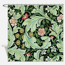Acanthus and Flowers by William Morris Shower Curt