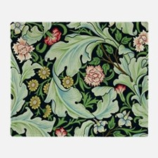 Acanthus and Flowers by William Morris Throw Blank