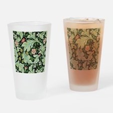 Acanthus and Flowers by William Morris Drinking Gl