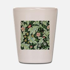 Acanthus and Flowers by William Morris Shot Glass