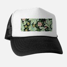 Acanthus and Flowers by William Morris Trucker Hat