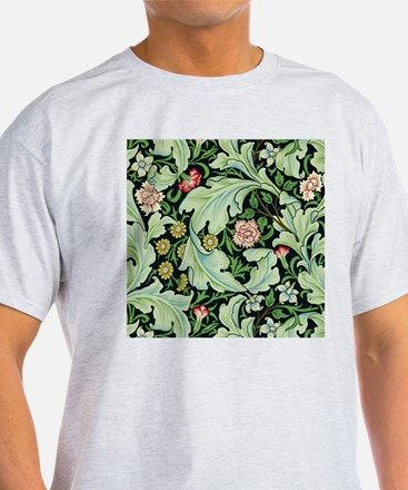 Acanthus and Flowers by William Morris T-Shirt