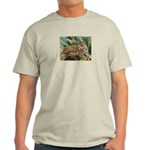Jaguar on Branch Light T-Shirt