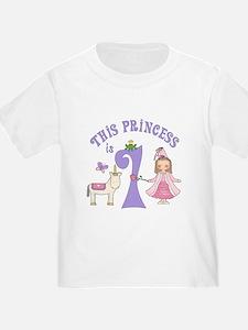 Unicorn Princess First Birthday T
