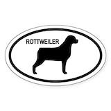 Rottweiler Bumper Stickers