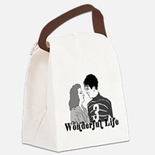 It's a Wonderful Life Canvas Lunch Bag
