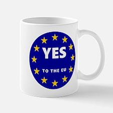 Europe, Be A Part Of It! Mug Mugs
