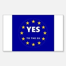 Europe, Be a Part of It! Decal