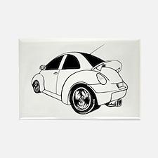 Egg shaped car Magnets