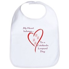 Catahoula Heart Belongs Bib